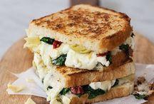 Saandwich végétarien
