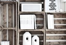 Vanhat laudat/laatikot/ovet / Erilaisia vaihtoehtoja mitä tehdä laudoista ja laatikoista yms.