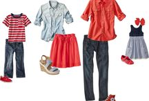 Family photo / What to wear summer attire