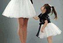 Anne & Kız kıyafet eşleşmesi