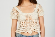 croped top crochet