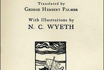 Homer's Odyssey - ill. N.C. Wyeth - 1929