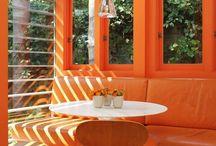 Colours of August - Sun Orange & Summer Grey