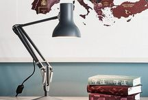 Type 75™ Mini Collection - Anglepoise® / Designed by Sir Kenneth Grange as a scaled down, more playful version of the best selling Type 75™ design. With its diminutive size and smart satin finish, the Type 75™ Mini series is a joy to use, offering all the functionality of the Type 75™, presented in a more compact and colourful form.