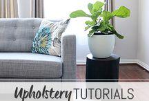 upholstery tutoirals