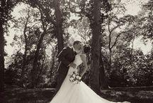 Wedding poses wide