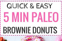 Clean Cheats / clean eating, cheat meal, clean cheats, paleo, whole30, protein, protein recipes, protein sweets, mug cake, quick recipes, healthy recipes, cake, brownies, doughnuts, fun, clean sweets