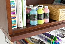 Office/craft room ideas / by Thia Schmidt