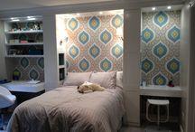 Girl Rooms / Teenage girl room ideas / by Kelly Gentry