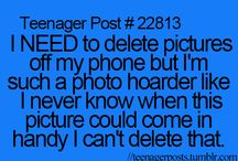 teenager posts so true!