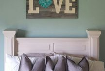 Bedrooms / by Ashley Sharp