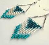 Σκουλαρίκια χαντρες