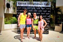 Green Temptation Fest 2015! / If it's green and sexy it's surely tempting! #GreenTemptationFest #StPatricks #TemptationResort