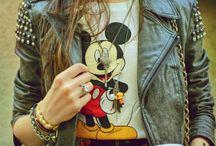 I heart Mickey Mouse / by Ginger Buffon