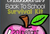 K - Beginning Year Activities / by Caitlin Norton