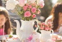 chá  com as amigas!