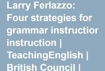four strategies for grammar instruction