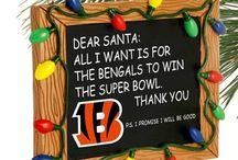 Cincinnati Bengals Christmas / Cincinnati Bengals Christmas / Happy Holidays - Pictures, Ideas, & Fun Products / Merchandise