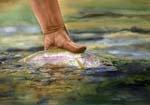 Fly-fishing / Writing + Fishing = Happiness