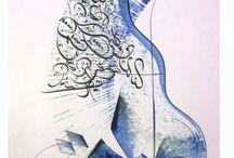 | arabic calligrafie |