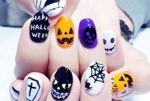 uñas hallowen