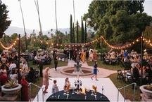 Wedding Venues / My favorite wedding venues. I love venues that are all outdoors with tons of twinkle lights :)