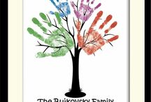 Family Tree Ideas / Craft and home decor ideas for sharing your family tree