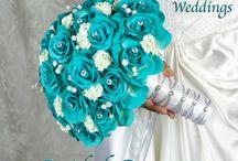 Brautstrauß aus silk