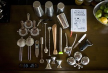 Bartender's Apprentice / Not just for those interested in becoming a bartender, or as we like to call it -- medicinal mixologist.  These items will help you achieve the perfect home bar you've been dreaming of. . . Does the doctor make house calls? Absolutely. / by Medicinal Mixology