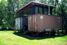 Container homes / by Kobus Geldenhuys