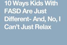 ADHD and fasd