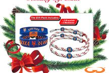Holiday Home Runs / Mets themed items for the holiday season.