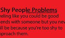 Shy People Problemos
