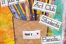 Art Class Organization ideas