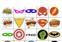 slaapfeest disney VS superhero