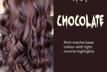 hårfarge brunt hår