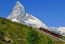 スイス山岳