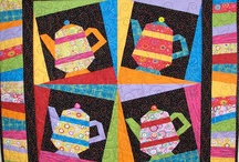 Teapot - paper piecing