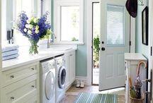 laundry - mudroom - closet / by Caroline Swetenburg