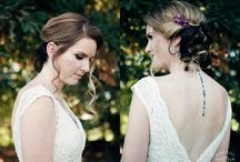 Bridal Hair & Makeup / Our beautiful brides photographed by Dawn Kelly Photography