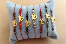 New Years Bracelets / Happy New Year greeting gifts