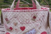 Marie,s passion sac couture Avec broderie