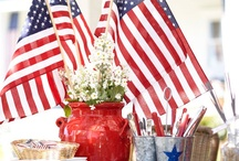 Independence Day / Everything related to the good ole' red, white, and blue! #independanceday #fourthofjuly