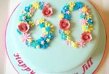 Cake decorating grandma