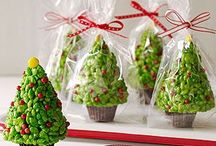 x-mas cakes and sweets