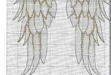 Cherub wings (cross stitch)