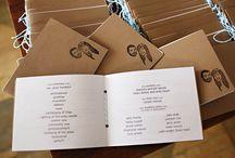 Wedding programs / by Meagan Simonson