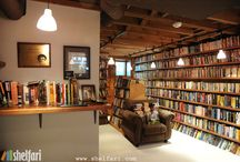 books & bookshelves / by Cristine Tellier