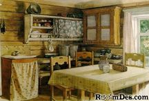 Farm house kitchens