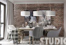 MIKOŁAJSKAstudio - interior design / Realizacje jednej z najlepszych polskich pracowni projektowych prowadzonych przez Krystynę Mikołajską